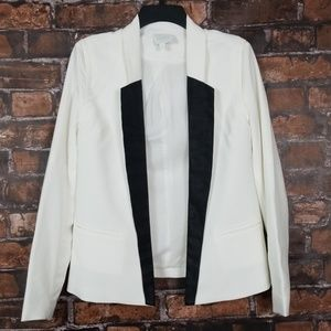 Aryn K| Open Front Tuxedo Blazer